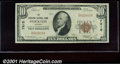 National Bank Notes:Kansas, Stockton National Bank, Stockton, KS, Charter #7815. 1929 $10 T...