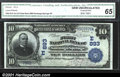 National Bank Notes:New York, First National Bank of Saratoga Springs, NY, Charter #893. 19...