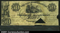 Miscellaneous:Republic of Texas Notes, 1838 $50 Government of Texas, Cr-H21, VG, COC. A small piece is...