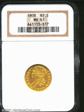 Early Quarter Eagles: , 1808 $2 1/2