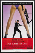 """Movie Posters:James Bond, For Your Eyes Only (United Artists, 1981). One Sheet (27"""" X 41"""").James Bond Thriller. Starring Roger Moore, Carole Bouquet,..."""