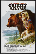 "Movie Posters:Adventure, The Life and Times of Grizzly Adams (Sunn Classic, 1974). One Sheet(27"" X 40""). Western Adventure. Starring Dan Haggerty, D..."