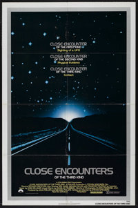 "Close Encounters of the Third Kind (Columbia, 1977). One Sheet (27"" X 41""). Science Fiction. Starring Richard..."