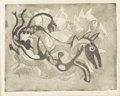 Paintings, CLINTON KING (1901-1979). Storm. Etching and aquatint. 7in. x 9in.. Signed lower right. Titled lower left. ...