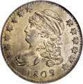 Bust Dimes: , 1809 10C MS65 NGC. JR-1, R.4. Only one die pairing is known for the1809 dime, which is expected considering that only 51,0...