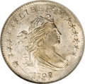 Early Dimes: , 1798/97 10C 16 Stars on Reverse MS65 NGC. JR-1, R.3. This is theoverdate obverse with a small 8 cut over a larger 7. The o...