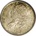 Bust Dimes: , 1831 10C MS65 PCGS. JR-1, R.1. This common variety is confirmed bystar 7 pointing to the upper part of the headband, and t...