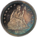 Proof Seated Quarters: , 1885 25C PR65 PCGS. The 2007 Guide Book indicates that 930proof quarters were struck in 1885. PCGS and NGC have certif...