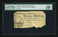 Colonial Notes:North Carolina, North Carolina March 9, 1754 20s PMG Very Good Net 10....