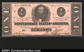 Confederate Notes:1863 Issues, 1863 $1 Clement C. Clay, T-62, AU. A problem-free example with ...