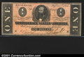 Confederate Notes:1864 Issues, 1864 $1 Clement C. Clay, T-71, VF-XF. A crisp example with seve...