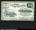 Obsoletes By State:Ohio, 1862 10 cents Summit County Bank, Cuyahoga Falls, OH, CU. You m...