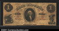 Obsoletes By State:Rhode Island, 1855 $1 Bank of the Republic, Providence, RI, VG. A decent exam...