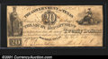 Miscellaneous:Republic of Texas Notes, 1838 $20 Government of Texas, Cr-H19, VG-Fine. A rare uncancell...