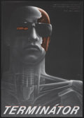 """Movie Posters:Science Fiction, The Terminator (Orion, 1984). Czech Poster (11"""" X 15.5""""). Science Fiction...."""