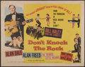 "Movie Posters:Rock and Roll, Don't Knock The Rock (Columbia, 1957). Half Sheet (22"" X 28""). Rockand Roll...."