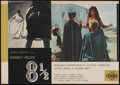 "Movie Posters:Drama, 8½ (Cineriz, 1963). Italian Photobusta (18.5"" X 26""). Drama...."