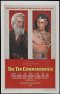 "Movie Posters:Historical Drama, The Ten Commandments (Paramount, 1956). One Sheet (28"" X 42.5"").Historical Drama...."