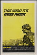 "Movie Posters:Drama, Easy Rider (Columbia, 1969). One Sheet (27"" X 41"") Style C.Drama...."