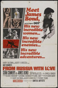 """Movie Posters:James Bond, From Russia with Love (United Artists, 1964). One Sheet (27"""" X 41"""") Style A. James Bond...."""