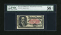 Fractional Currency:Fifth Issue, Fr. 1381 50c Fifth Issue PMG Choice About Unc 58 EPQ....