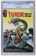 Silver Age (1956-1969):Adventure, Turok, Son of Stone #58 (Gold Key, 1967) CGC NM- 9.2 Off-white to white pages....