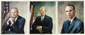 Autographs:Celebrities, Apollo 11 (Armstrong, Collins, Aldrin) Individual Color PhotosSigned... (Total: 3 Items)