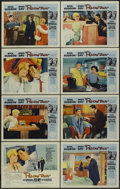 "Movie Posters:Comedy, Pillow Talk (Universal, 1959). Lobby Card Set of 8 (11"" X 14"").Comedy.... (Total: 8 Items)"