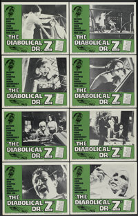 "The Diabolical Dr. Z (U.S. Films Inc., 1966). Lobby Card Set of 8 (11"" X 14""). Horror.... (Total: 8 Items)"