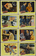 "Movie Posters:Crime, Guns, Girls and Gangsters (United Artists, 1959). Lobby Card Set of8 (11"" X 14""). Crime.... (Total: 8 Items)"