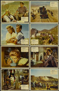 "Movie Posters:Adventure, Flame Over India (Rank, 1959). British Lobby Card Set of 8 (11"" X14""). Also known as North West Frontier. Adventure....(Total: 8 Items)"