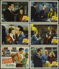 """Movie Posters:Drama, Right Cross (MGM, 1950). Title Lobby Card and Lobby Cards (5) (11"""" X 14""""). Drama.... (Total: 6 Items)"""