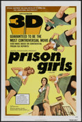 "Movie Posters:Bad Girl, Prison Girls (United Producers, 1972). One Sheet (27"" X 41"") 3-D.Bad Girl...."
