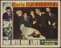 """Movie Posters:Horror, The Man With Nine Lives (Columbia, 1940). Lobby Card (11"""" X 14""""). Horror...."""