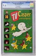 Bronze Age (1970-1979):Cartoon Character, TV Casper and Company #29 File Copy (Harvey, 1970) CGC NM+ 9.6Off-white to white pages....