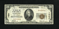 National Bank Notes:West Virginia, Wheeling, WV - $20 1929 Ty. 1 The NB of West Virginia Ch. # 1424....