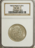 Coins of Hawaii, 1883 50C Hawaii Half Dollar MS62 NGC....