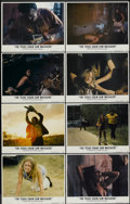"""Movie Posters:Horror, The Texas Chainsaw Massacre (Bryanston, 1974). Lobby Card Set of 8 (11"""" X 14""""). Horror.... (Total: 8 Items)"""