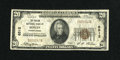 National Bank Notes:Pennsylvania, Berlin, PA - $20 1929 Ty. 1 The Philson NB Ch. # 6512. ...