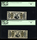 Fractional Currency:Third Issue, Three Type II Spinners.... (Total: 3 notes)