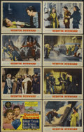 "Movie Posters:Adventure, Quentin Durward (MGM, 1955). Lobby Card Set of 8 (11"" X 14"").Adventure.... (Total: 8 Items)"