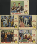 """Movie Posters:Comedy, Road to Morocco (Paramount, 1942). Lobby Cards (5) (11"""" X 14""""). Comedy.... (Total: 5 Items)"""