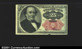 Fractional Currency: , 1874-1876 25c Fifth Issue, Walker, Fr-1308, XF. An Uncirculated...