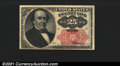 Fractional Currency: , 1874-1876 25c Fifth Issue, Walker, Fr-1308, AU. You may bid on ...