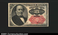 Fractional Currency: , 1874-1876 25c Fifth Issue, Walker, Fr-1309, CU. This note would...