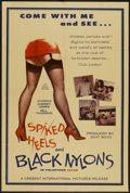 "Movie Posters:Sexploitation, Spiked Heels and Black Nylons (Crescent International, 1967). OneSheet (28"" X 42""). Sexploitation...."