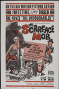 "Movie Posters:Crime, The Scarface Mob (Desilu, 1962). One Sheet (27"" X 41""). Crime...."