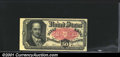Fractional Currency: , 1874-1876 50c Fifth Issue, Crawford, Fr-1381, AU. A couple of l...