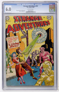 Golden Age (1938-1955):Science Fiction, Strange Adventures #25 (DC, 1952) CGC FN 6.0 Off-white pages....