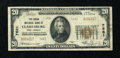 National Bank Notes:West Virginia, Clarksburg, WV - $20 1929 Ty. 2 The Union NB Ch. # 7681. ...